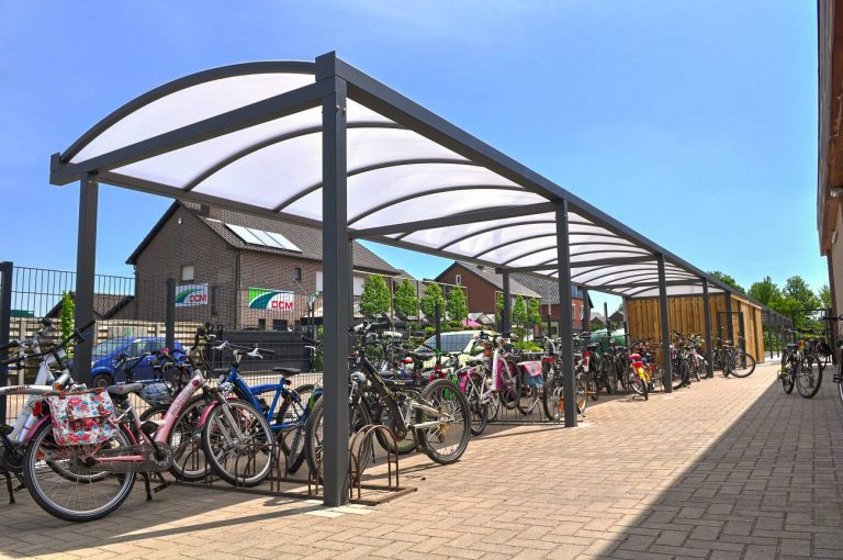 schooloverkapping-fietsenstalling
